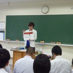「合同座談会in田島高校」を実施しました