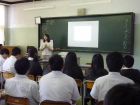 「合同座談会in若松第一高校」を実施しました